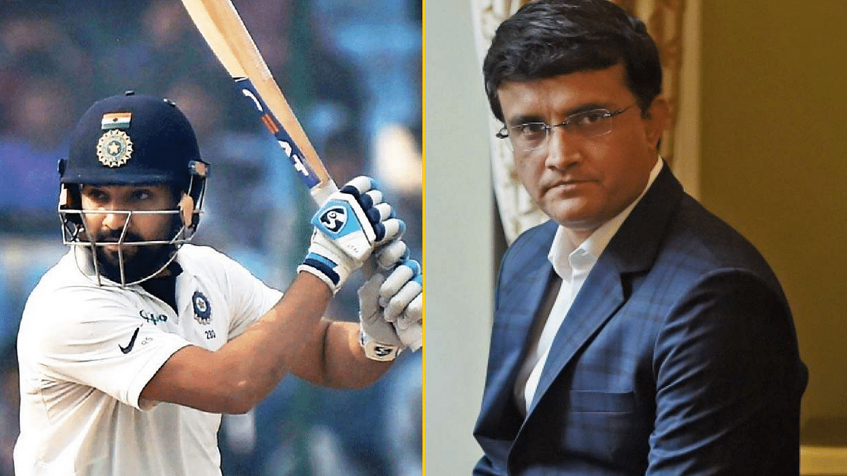 Sourav Ganguly feels Rohit Sharma deserves an opportunity in the longest format of the game.