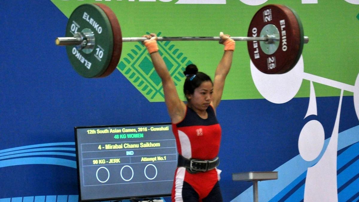 Ace weightlifter Mirabai Chanu.