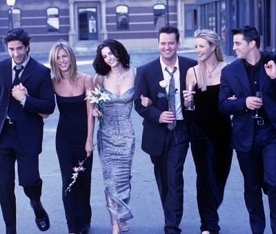 """Twenty-five years ago, actors Jennifer Aniston, David Schwimmer, Courteney Cox, Lisa Kudrow, Matt LeBlanc and Matthew Perry became household names with the popular American sitcom """"Friends"""". Till date, the star cast is fondly known by their characters"""