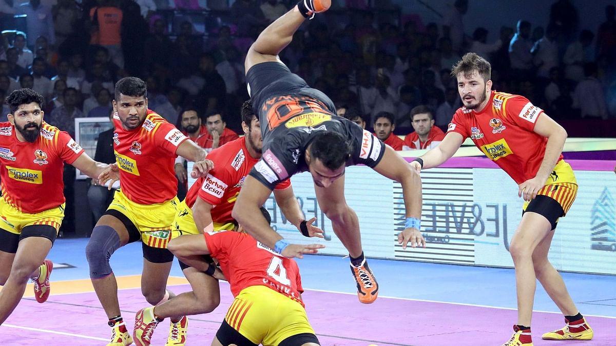 Pro Kabaddi: All-Round U Mumba Beat Gujarat Fortunegiants