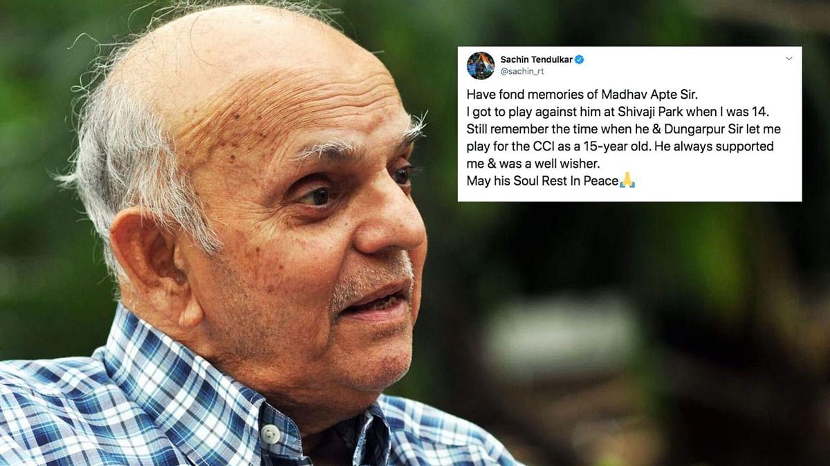 Cricket Fraternity Condoles Demise of Madhav Apte