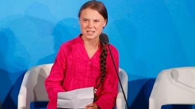 Swedish teenage climate activist Greta Thunberg.