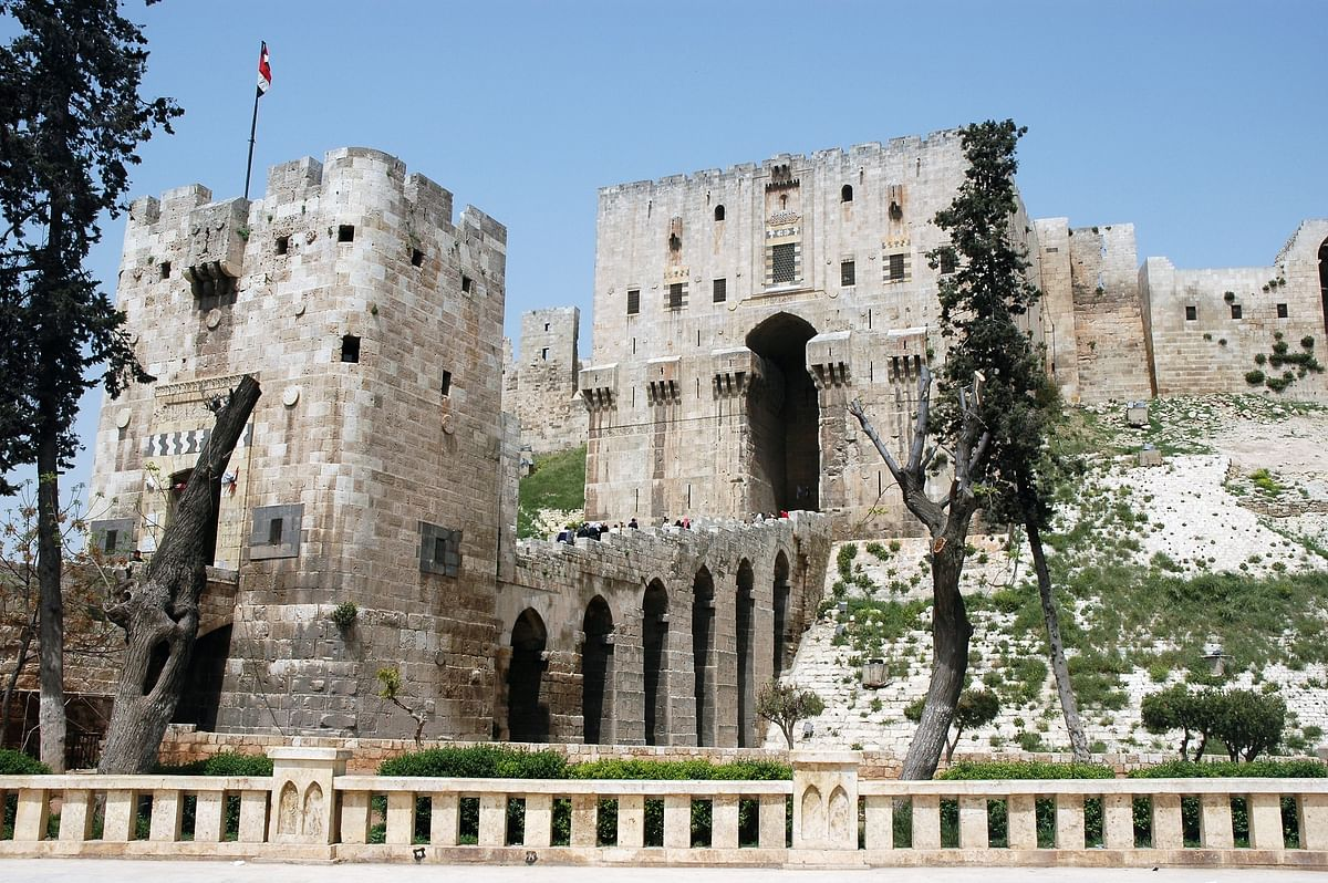 Aleppo Citadel dates back to 9th century BC