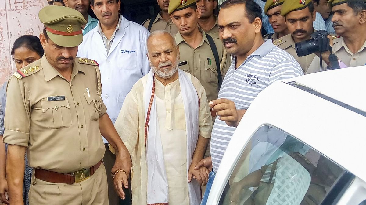 BJP leader Chinmayanand was on Friday, 20 September, arrested from Shahjahanpur, days after a law student levelled rape charges against him.