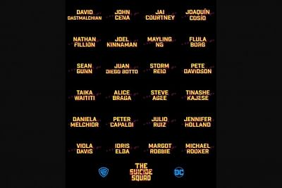 "Filmmaker James Gunn has revealed the full cast of his upcoming film ""The Suicide Squad"", with a warning. Gunn took to Twitter to reveal the names of the 24 stars."