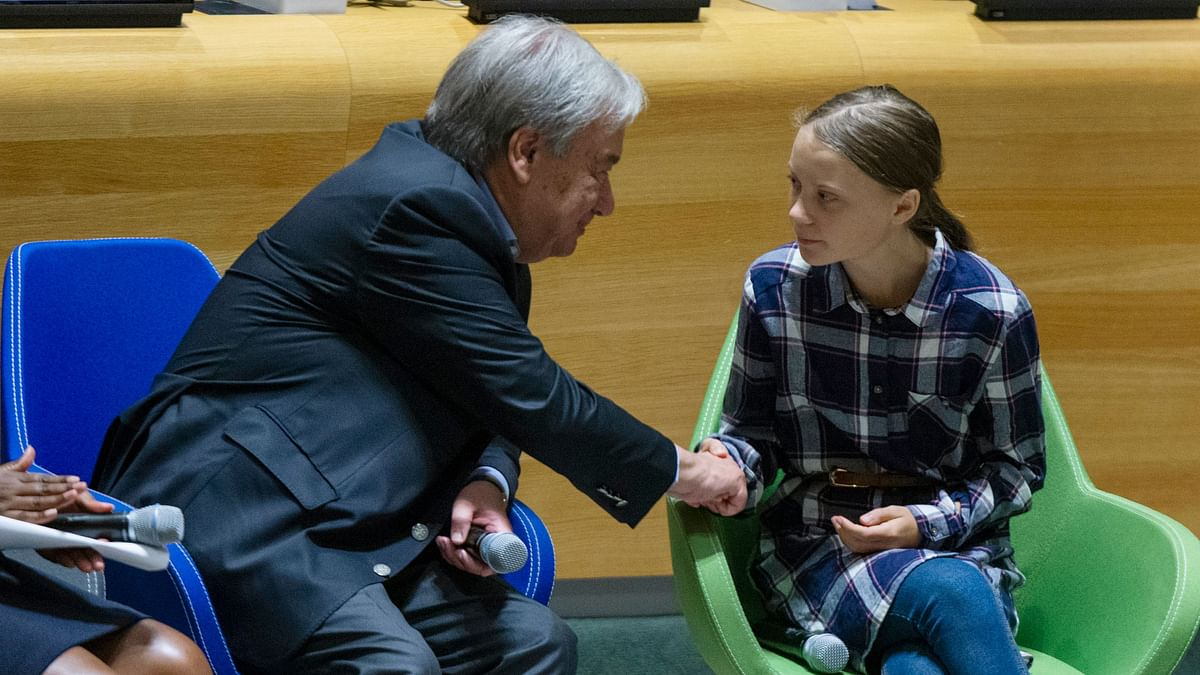 Youth Leaders at UN Demand Bold Moves to Fight Climate Change