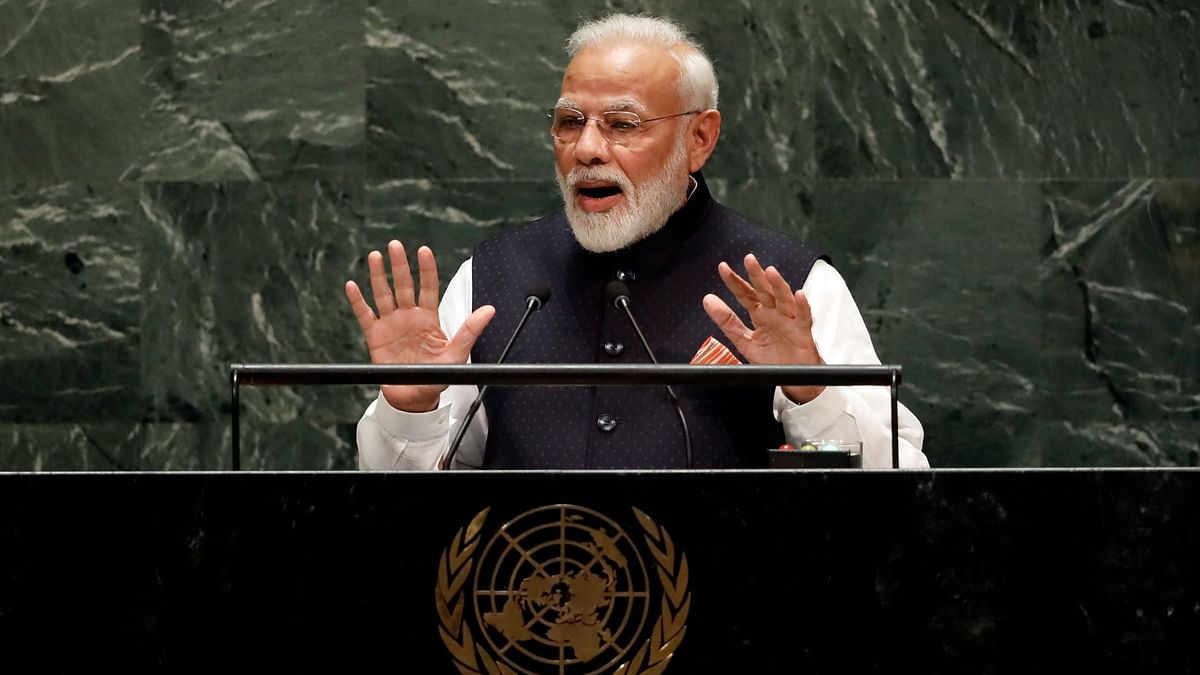 Addressing the students at IIT Madras, Modi said the solutions found today would be start-up ideas for tomorrow.