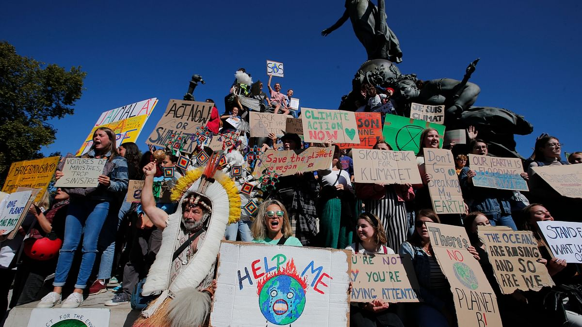 In Photos: Hundreds of Thousands Join Global Climate Protests