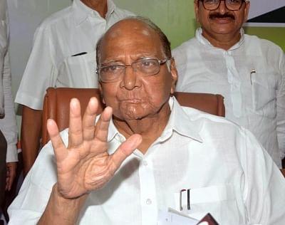 NCP chief Sharad Pawar. (File Photo: IANS)