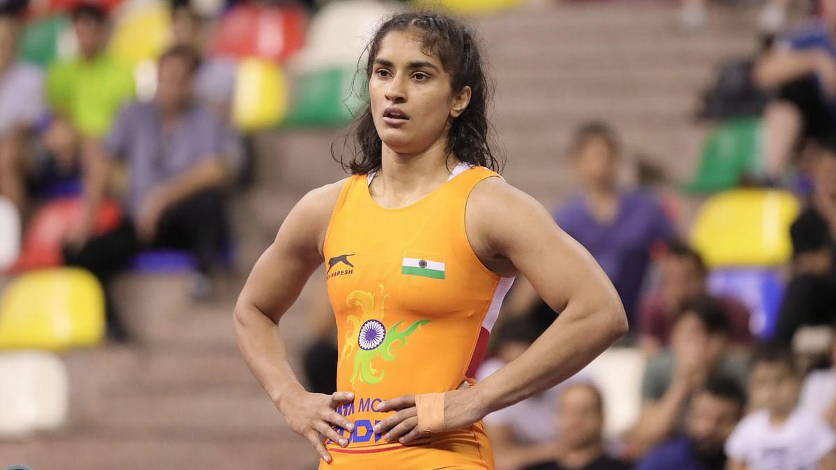 """Vinesh Phogat was pitted against Olympic bronze medallist Sofia Mattsson in the """"toughest possible"""" draw for the World Championships."""