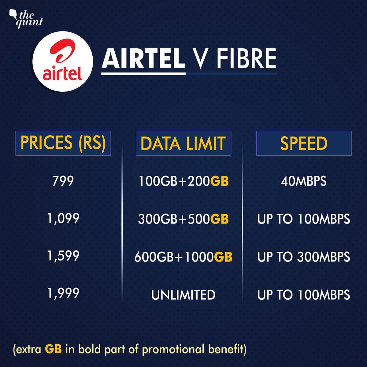 JioFiber Data Plans Compared with Airtel, BSNL & ACT Fibernet