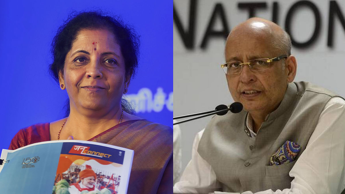 6 Questions Cong Asks FM Sitharaman After Her Millennial Remarks