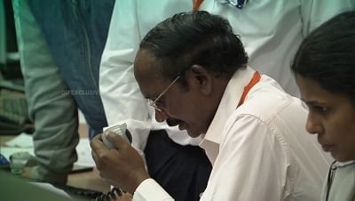 Bengaluru: ISRO Chairman K. Sivan announces that the communication link with Vikram lander that was descending towards the Moon