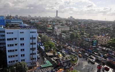 Kolkata: Top view of Kolkata as seen from Sealdah on Sep 6, 2019. (Photo Kuntal Chakrabarty/IANS)