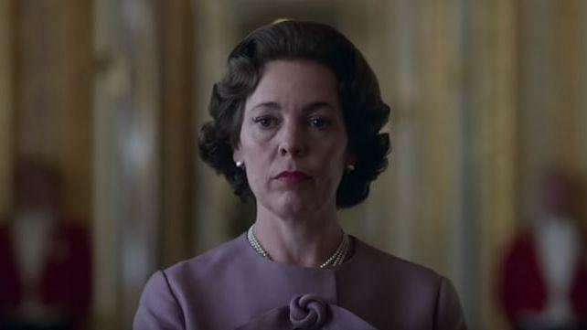 Olivia Colman as Queen Elizabeth II in <i>The Crown </i>Season 3.