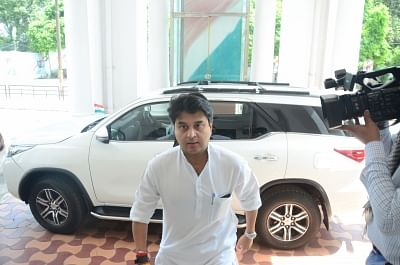 Jyotiraditya Scindia. (Photo: IANS)