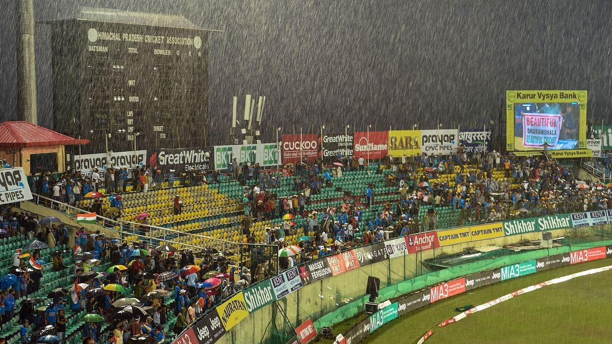 1st T20I Between India and South Africa Abandoned Due to Rain