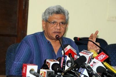 CPI-M General Secretary Sitaram Yechury. (File Photo: IANS)