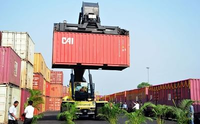Container Terminus of Container Corporation of India. (File Photo: IANS)