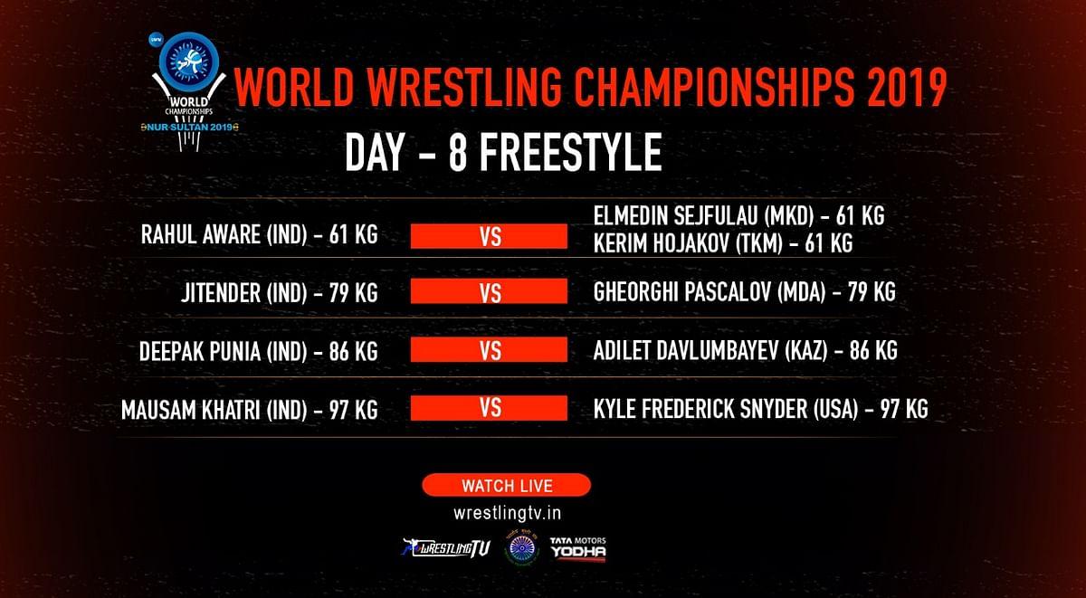 World Wrestling C'ships: After Bajrang, Ravi Also Bags Bronze