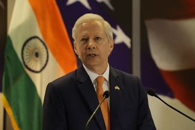 US Ambassador to India Kenneth I. Juster. (Photo: Amlan Paliwal/IANS)