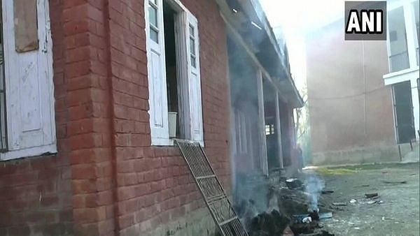 Government School in J&K's Kulgam District Set on Fire