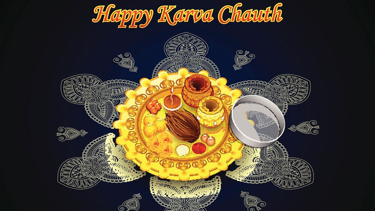 Happy Karwa Chauth 2020 wishes for husbands and wives.
