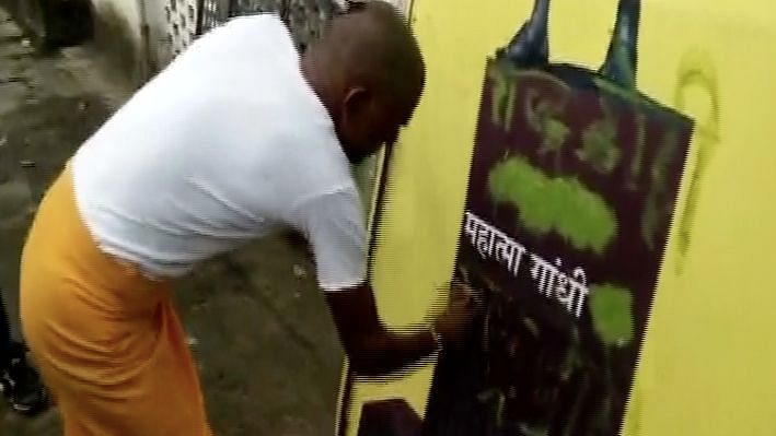 Gandhi's Remains Stolen, Poster Defaced With 'Anti-National' in MP