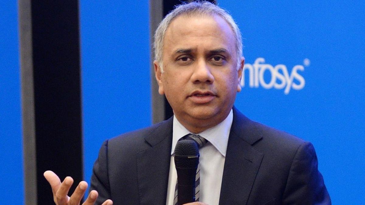 Infosys CEO Salil Parekh.