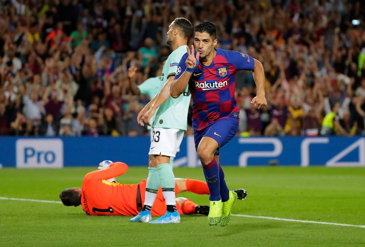 Suarez has taken a lot of the blame for the team's failure to win the Champions League in recent years.