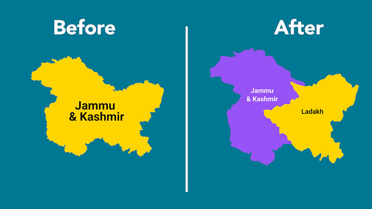 How Will J&K Change After 31 October? Decoding the Reorganisation