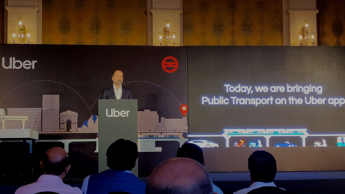 Uber Brings 'Public Transport' in India, Partners with Delhi Metro