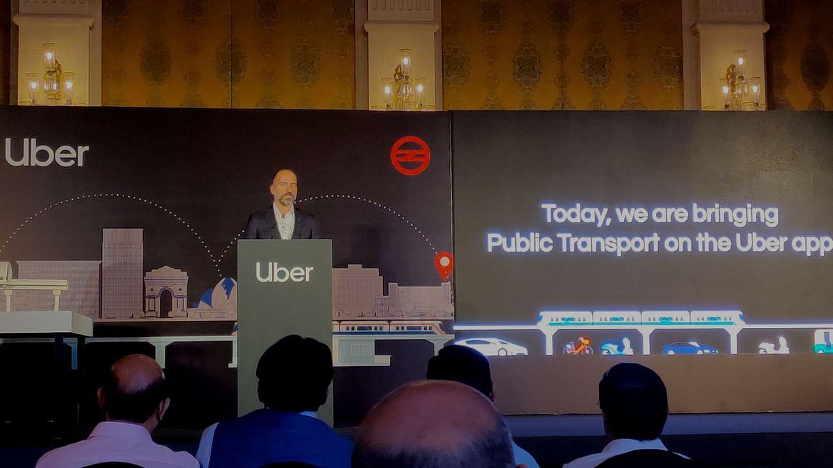 Uber Brings 'Public Transport' in India, Partners with Delhi Metro