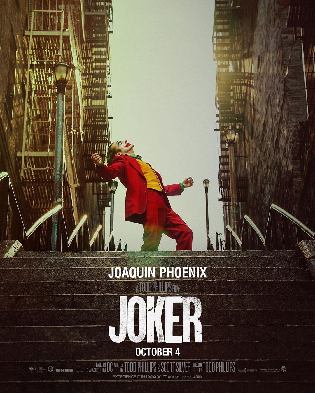 A poster of&nbsp;<i>Joker.</i>