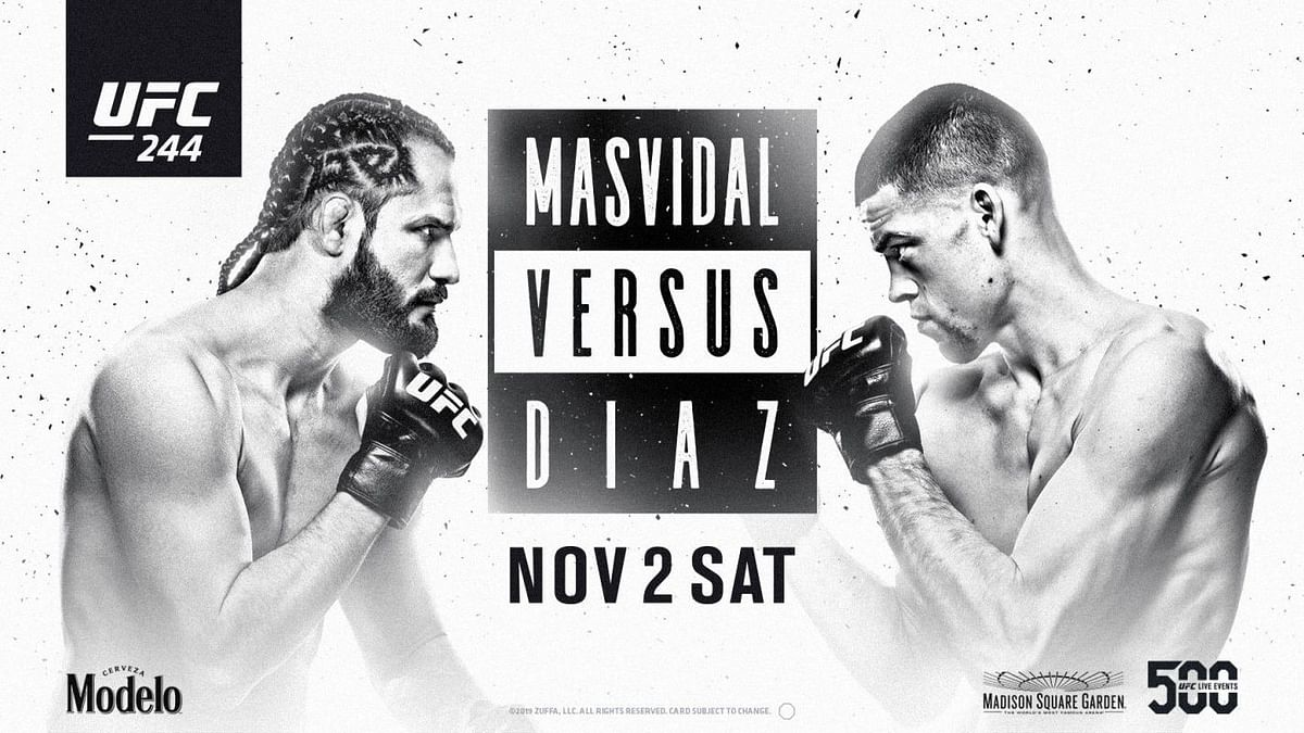 UFC 244 ended with a controversial doctors stoppage win for Jorge Masvidal over Nate Diaz.
