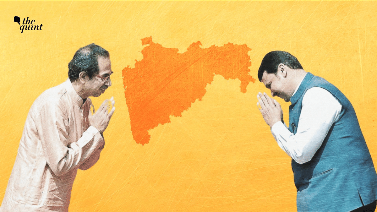 The Shiv Sena has insisted on a '50:50' power-sharing formula for the coalition partners.