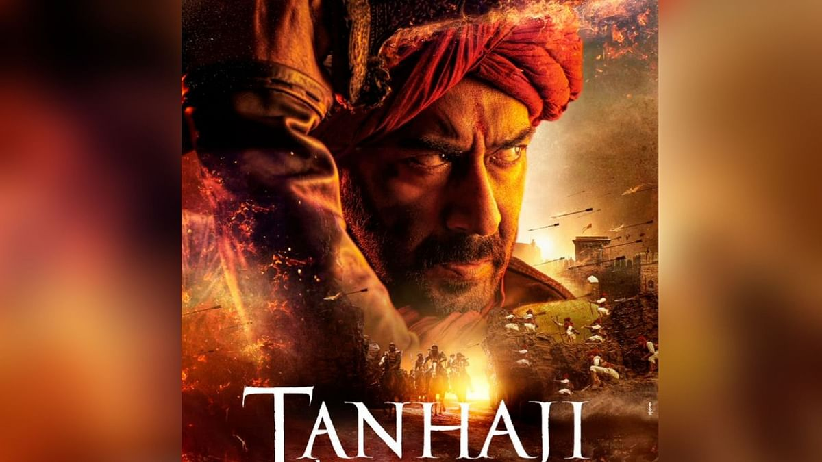 Ajay Devgn in and as <i>Tanhaji</i>