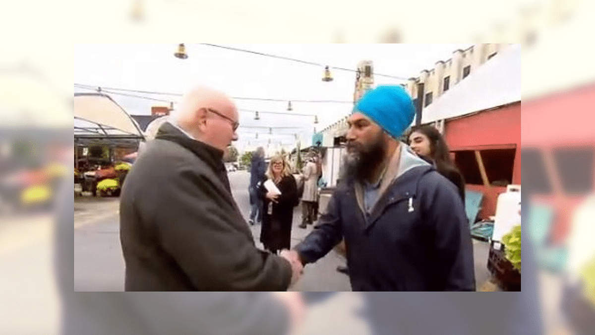 'Remove Turban to Look More Canadian': Voter to Jagmeet Singh