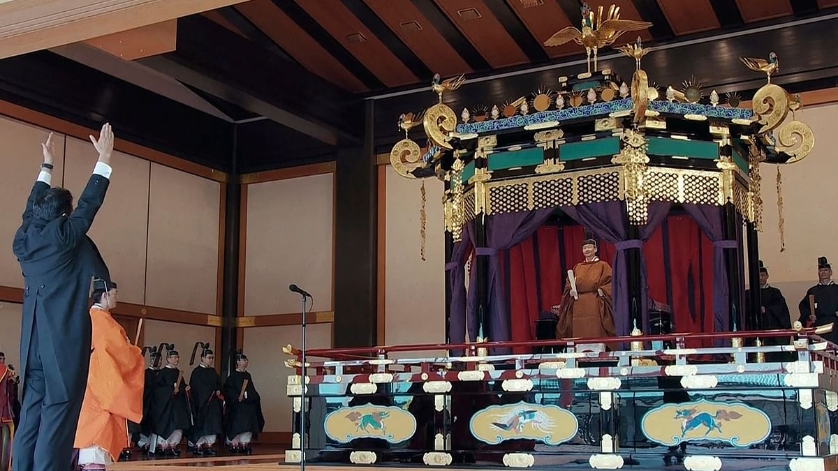 Japan's New Emperor Naruhito Ascends to Throne In Ancient Ritual