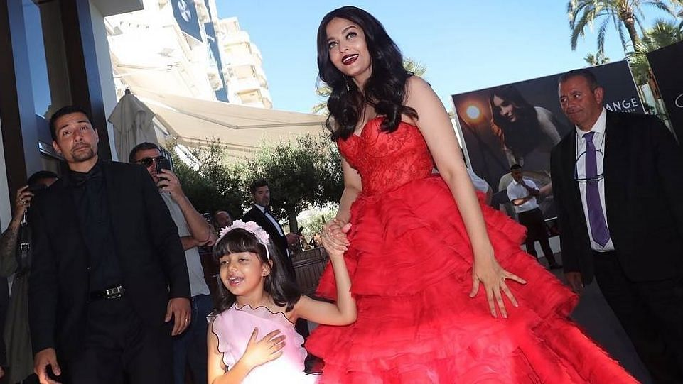 Aishwarya Bachchan with daughter Aaradhya.