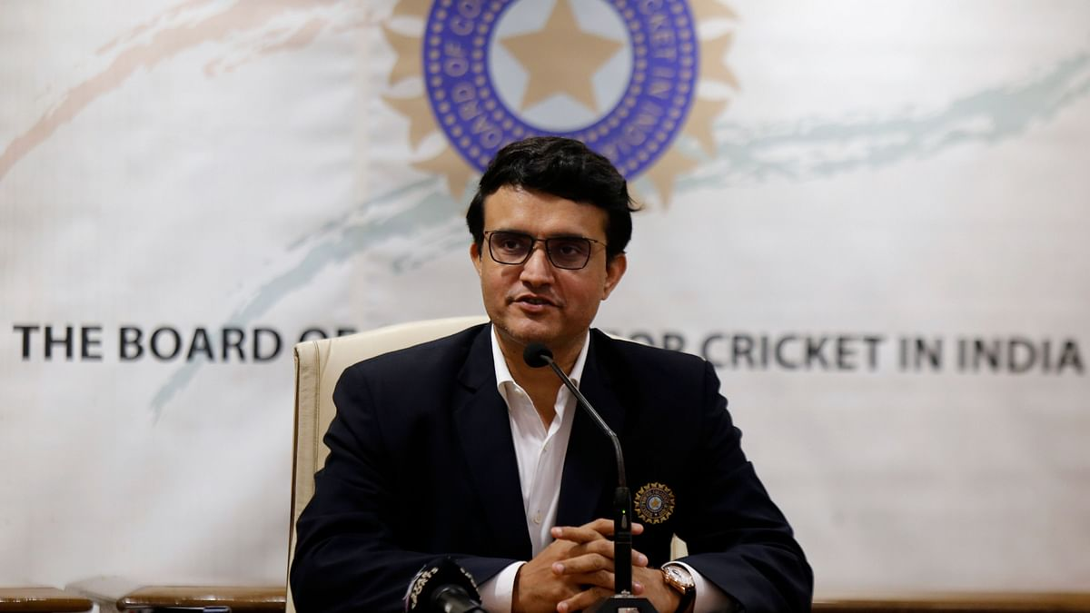 File image of BCCI president Sourav Ganguly.