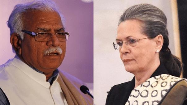 Haryana CM Calls Sonia 'Mari Hui Chuhiya,' Earns Cong's Wrath