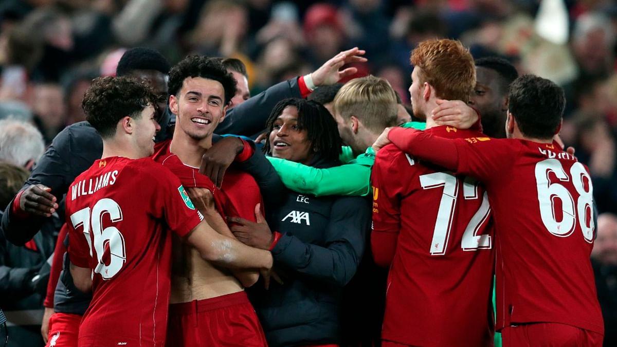 League Cup: Liverpool Oust Arsenal 5-4 in Shootout, Enter Quarters