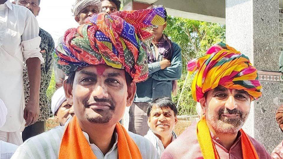 Alpesh Thakor who was a Congress MLA from Radhanpur quit the party to join the BJP earlier this year.