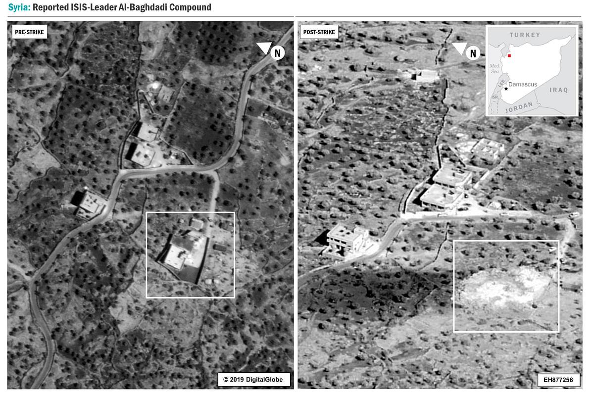 Pentagon Releases Video Footage, Photos of Baghdadi Raid