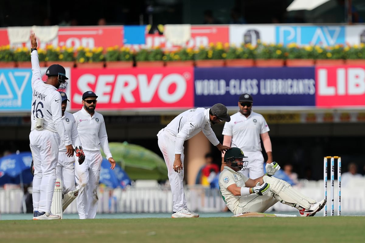 Ranchi Test, Day 3: At Stumps, S Africa 132/8, Trail by 203 Runs