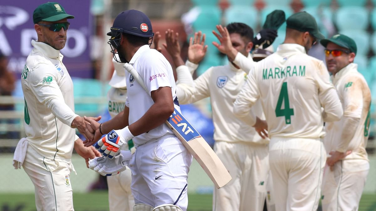 Spirit Of Cricket: Proteas Applaud Mayank & Rohit's Performance