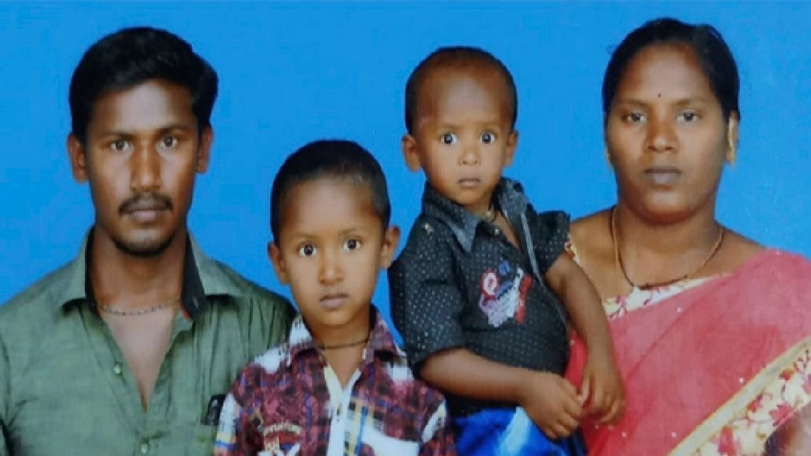 Two-year-old Sujith Wilson (second from right), who was trapped in an abandoned borewell in Tamil Nadu since Friday, 25 October, has been reported dead.
