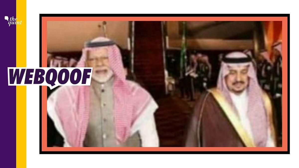 Did PM Modi Wear Saudi Arabian Headdress to Impress Investors?