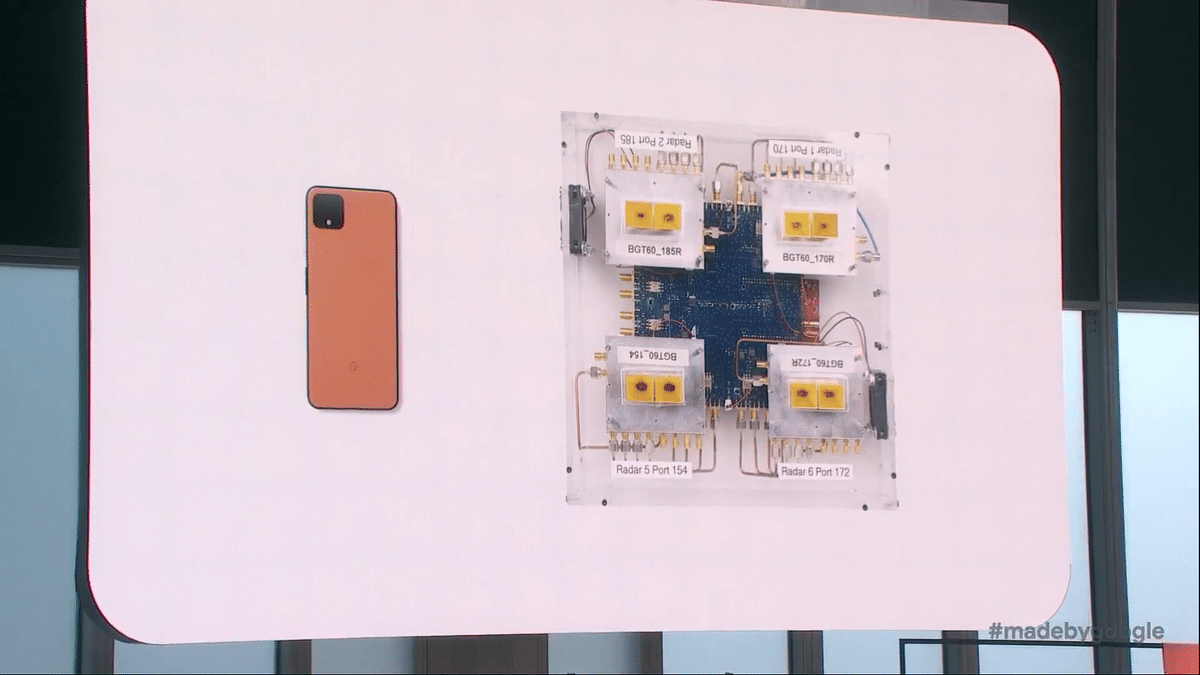 This is the sensor embedded on the Pixel 4 smartphones.